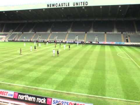 Mike Porter's 40th Birthday playing at St James Park
