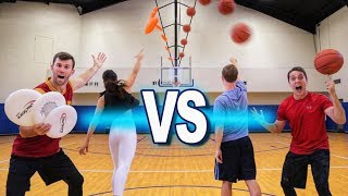 EPIC TRICK SHOT BATTLE [Insane Ending] | Brodie & Kelsey