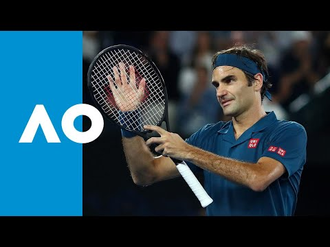 Roger Federer v Taylor Fritz match highlights (3R) | Australian Open 2019