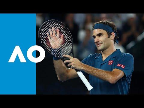 Roger Federer V Taylor Fritz Match Highlights (3R)   Australian Open 2019