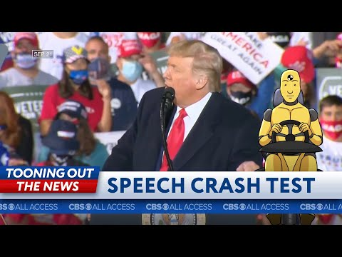 Donald Trump's speech fails crash test
