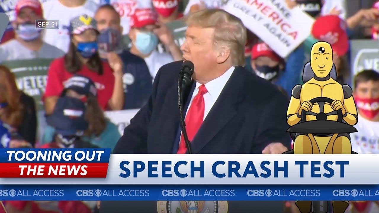 Donald Trump's speech fails crash test