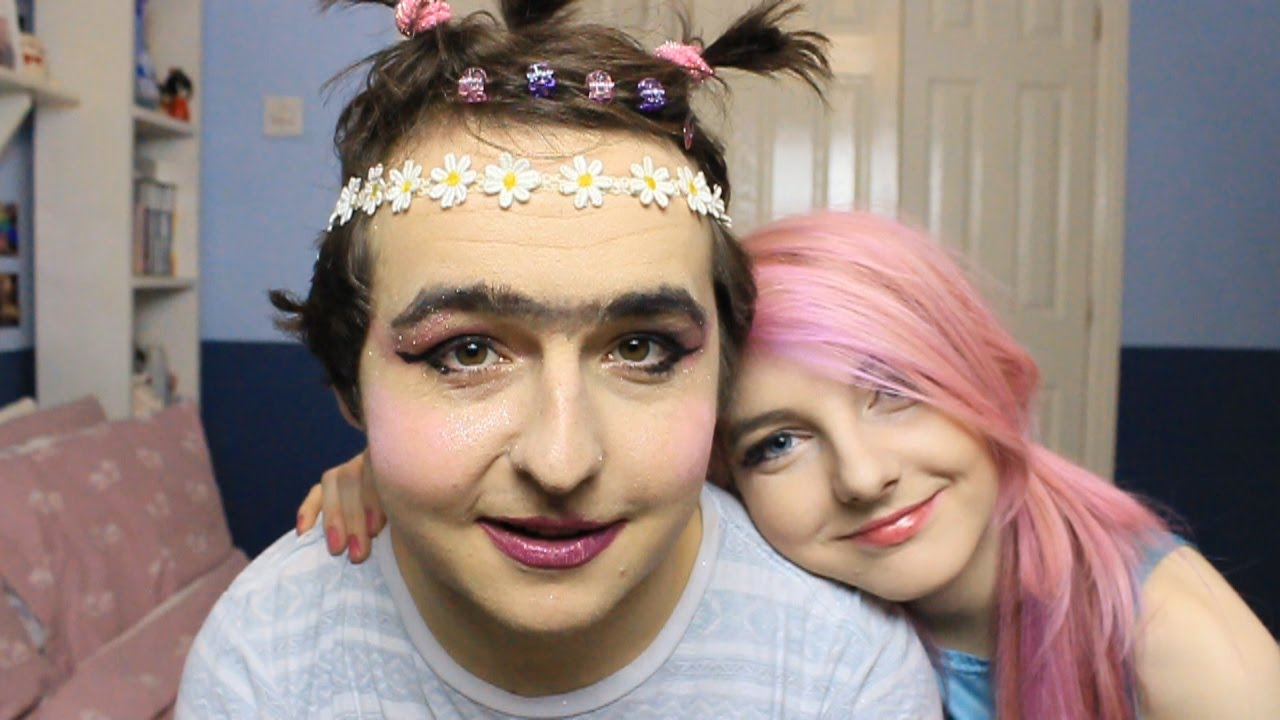 My Girlfriend Does My Makeup Again - Youtube-6601