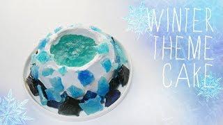figcaption 겨울 테마 케이크 만들기 (winter theme cake)ㅣ몽브셰(mongbche)