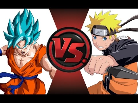 GOKU vs NARUTO! Cartoon Fight Club Episode 17!