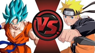 GOKU vs NARUTO! Cartoon Fight Club Episode 17!