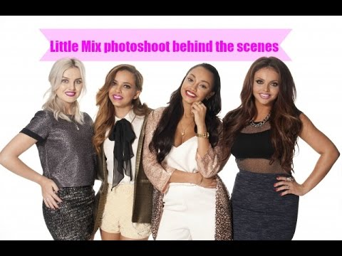 Little Mix - Behind the scenes photoshoot [Keeping up with Little Mix]