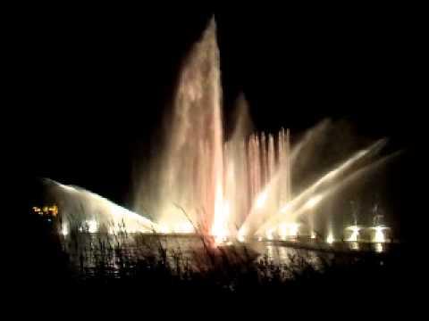 Licht und Wasser  Show in Hamburg, Deutschland , 2012,25.08