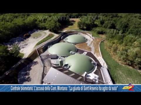 """Centrale biometano  L'accusa della Comunità Montana """"La giunta di Sant'Arsenio ha agito da sola''"""