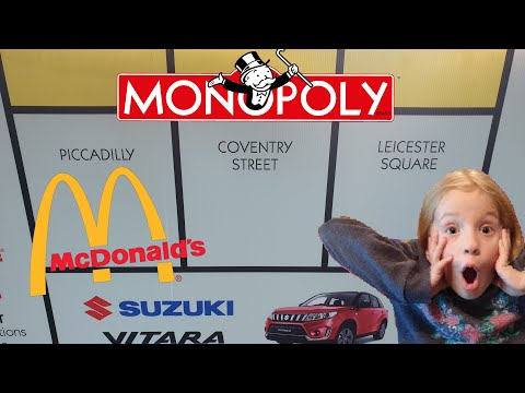 MONOPOLY GAME AT MACCAS AUSTRALIA! *NEW CAR* HUNT FOR RARE PICCADILLY ! DO WE WIN?McDonalds Monopoly