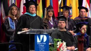 North Graduation Keynote Speaker (Ms. Katherine Archuleta)