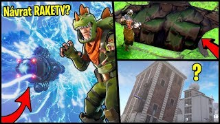 Propadne se TILTED TOWERS do země?! | Fortnite Teorie, Novinky a Leaky
