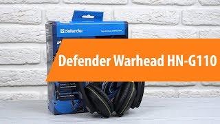 Rescue Defender Warhead HN-G110 / Unboxing Defender Warhead HN-G110