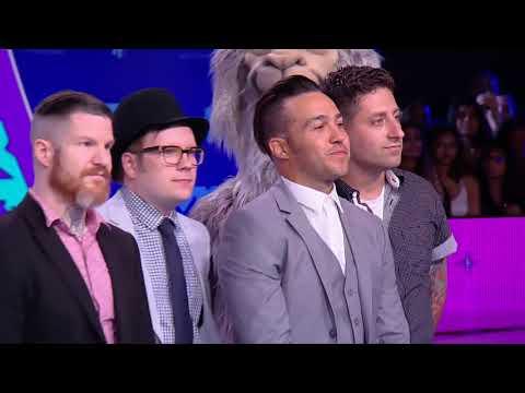 Fall Out Boy @ Blue Carpet MTV VMAs 2017