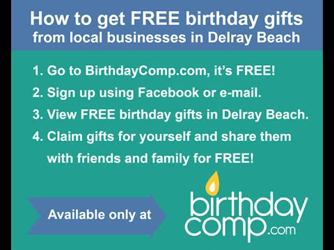 Free birthday gifts in the mail
