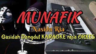 Download MUNAFIK - Nasida Ria Qasidah Dangdut KARAOKE rasa ORKES Yamaha PSR S970