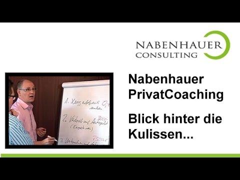 Privat Coaching bei Robert Nabenhauer - Blick hinter die Kulissen - Nabenhauer Consulting