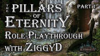 Pillars of Eternity Role-playthrough w/ ZiggyD: Ep.1 - A Sick Cipher (Let