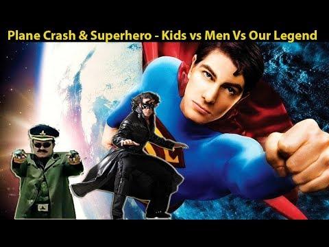 Plane Crash & Superhero - Hollywood Vs Bollywood Vs Our Legend