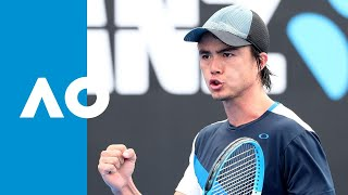 Taro Daniel v Thanasi Kokkinakis match highlights (1R) | Australian Open 2019