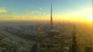 Sunset Burj Khalifa