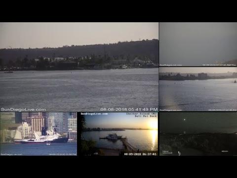 San Diego Web Cam | Live Multi-cam Stream