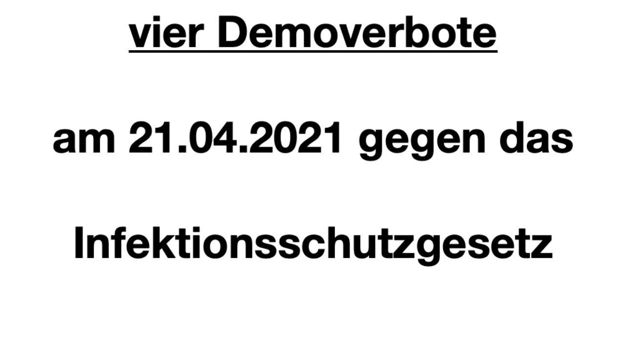 Demo Infektionsschutzgesetz § 28B Berlin #b2104 21.04.2021 Bevölkerungsschutzgesetz Straße 17. Juni