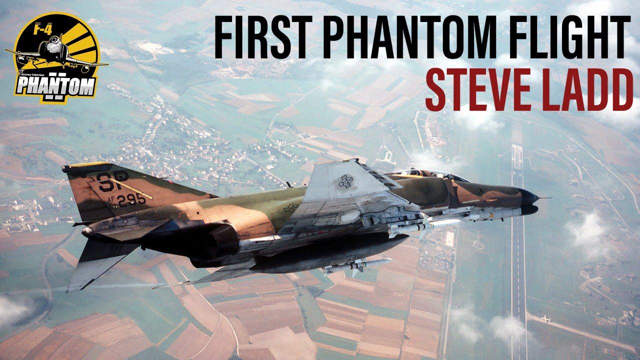 Steve Ladd's First F-4 Flight (Teaser Clip)