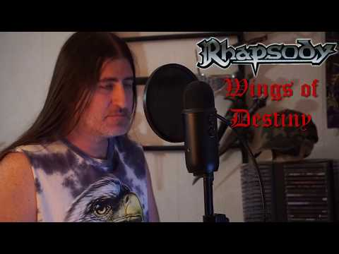 "Rhapsody "" Wings of Destiny "" ( Vocal cover )"