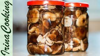Как МАРИНОВАТЬ ОПЯТА и другие грибы 🍄 Заготовки Грибов на ЗИМУ ✧ Ирина Кукинг