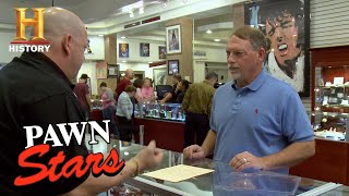 Pawn Stars: Rick Worries about a Letter Signed by John Quincy Adams (Season 10) | History