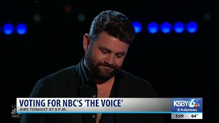 Pryor Baird sings for top 4 spot on 'The Voice' Monday Mp3