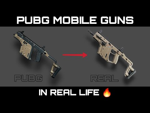 PUBG Mobile Guns In Real Life (SMG - Submachine Gun) | Pubg Weapons In Real Life 🔥