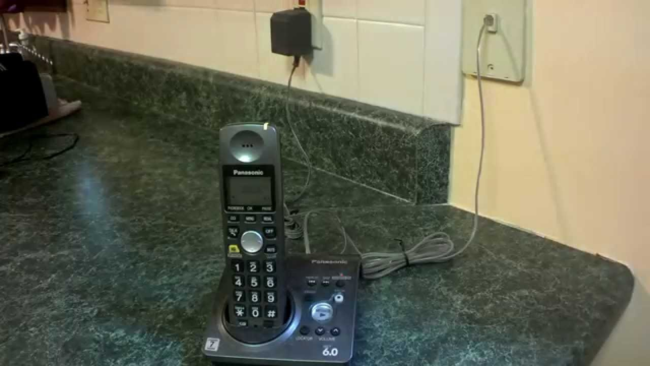 How To Install A Cordless Phone Youtube