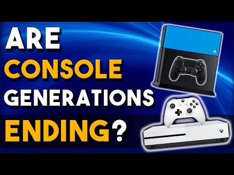Are Console Generations Coming to an End?