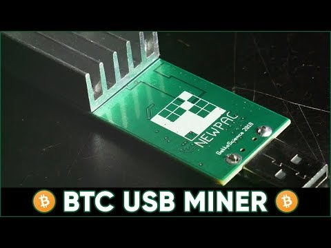 Gekkoscience NewPac - USB BTC Mining (100 GH/s + On Bitcoin) Setup / How To