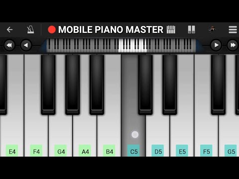 Nokia Tune Piano Tutorial|Piano Keyboard|Piano Lessons|Piano Music|learn piano Online|Piano Keyboard