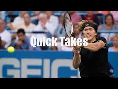 Analysis: Sascha Zverev Defeats Roger Federer in Montreal's Rogers Cup Final