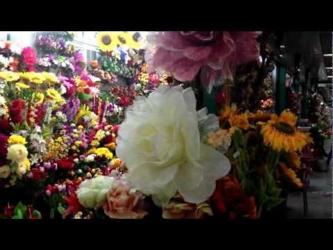 yiwu wholesale market artificial flowers