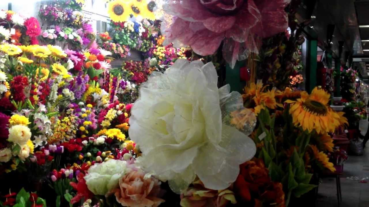 Yiwu Wholesale Market Artificial Flowers Youtube