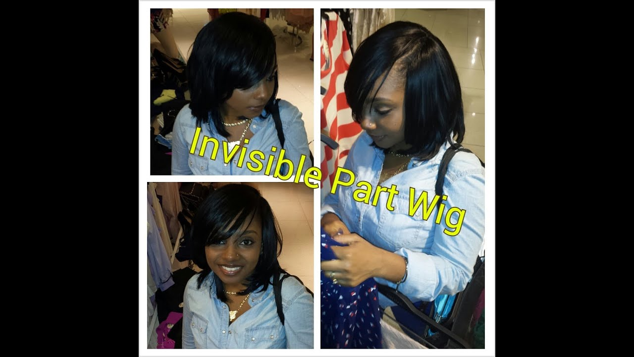 Flawless Invisible part quick weave Bump hair - YouTube