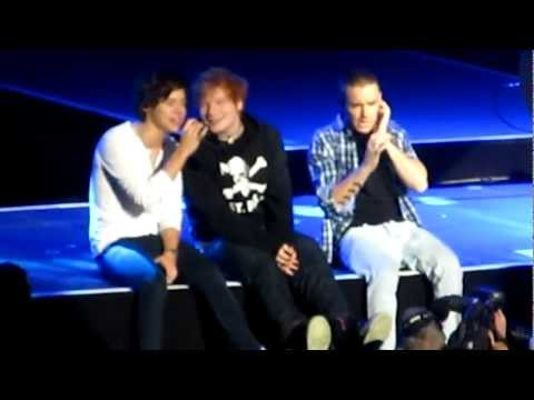 Thumbnail: One Direction Feat. Ed Sheeran - Little Things MSG 12/3/12