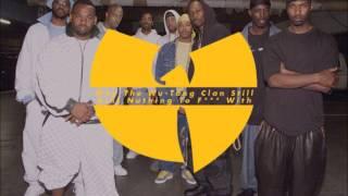 Wu-Tang Clan - Wu-Tang Clan Ain't Nuthing Ta F' Wit (lyrics)