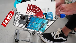 Whatever you fit in TINY CART, I'll buy it for you!