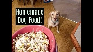 Homemade Dog Food in Instantpot for $6 a week!