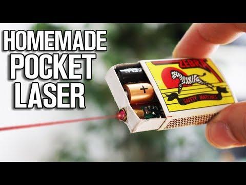 Homemade Pocket Laser!
