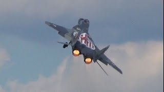 MiG-29 Fulcrum AMAZING POWERFUL Display @ ILA Berlin Air Show 2014! (1080p)