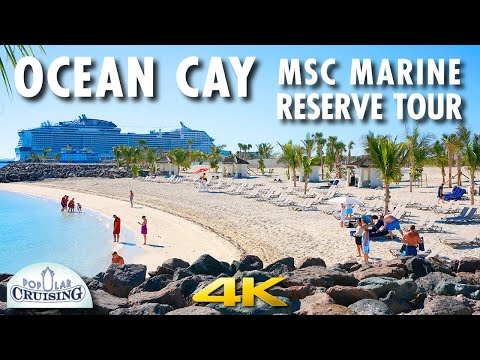 Ocean Cay MSC Marine Reserve Tour ~ MSC Cruises [4K Ultra HD]