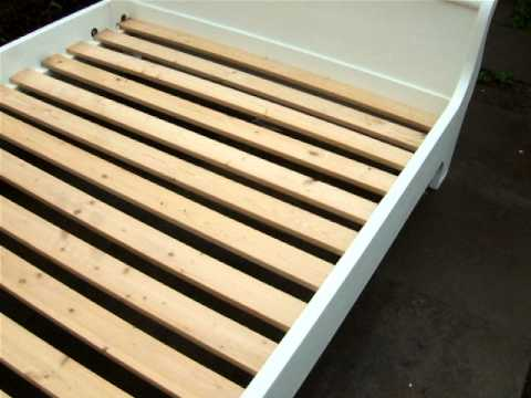 how to stop a sleigh bed from squeaking
