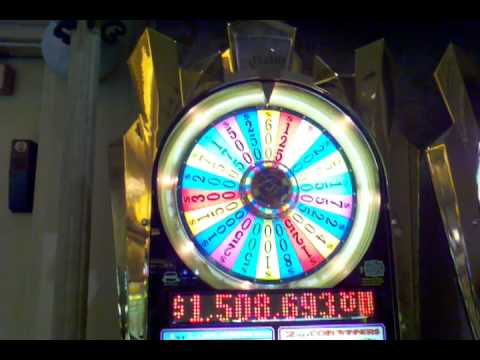 wheel of fortune 25 cent slot machine payouts